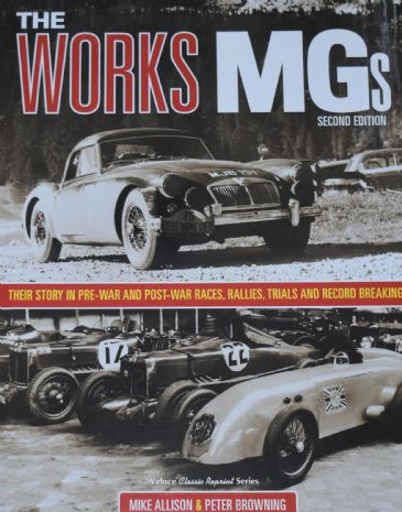 The Works MGs, by Mike Allison and Peter Browning